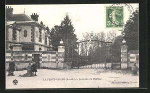 AK La Ferte-Vidame, La Grille du Chateau