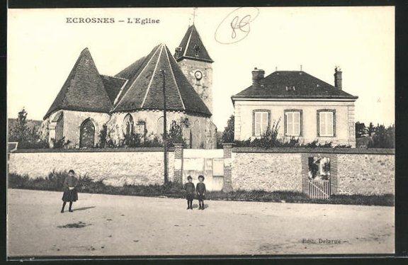 AK Ecrosnes, L`Eglise 0