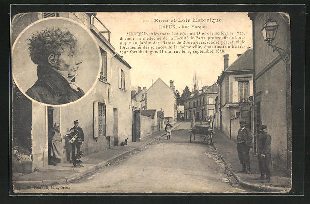 AK Dreux, Rue Marquis, Marquis Alexandre-Louis 0