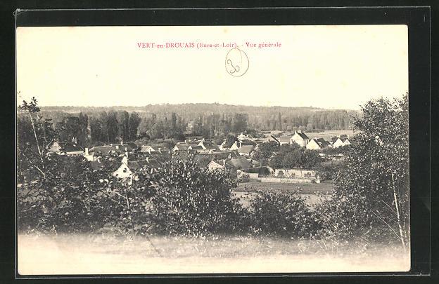 AK Vert-en-Drouais, vue generale