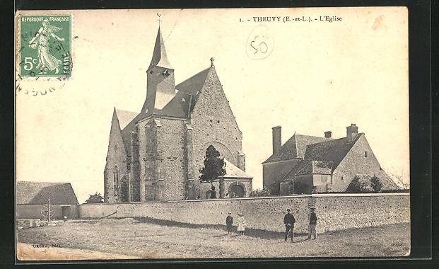 AK Theuvy, l`Eglise 0