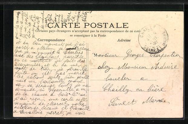 AK Chartres, Cavalcade de Chartres, Char de Gambrinus 1