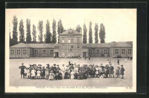 AK Dreux, Collège de Jeunes Filles, Place Mézirard