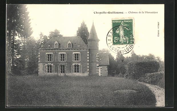 AK Chapelle-Guillaume, Chateau de la Menastière 0