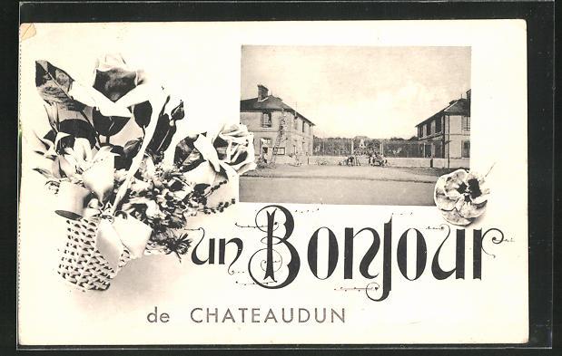 AK Chateaudun, Eingang zur Kaserne 0