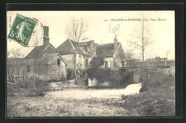 AK Villiers-le-Morhier, Le Vieux Moulin 0