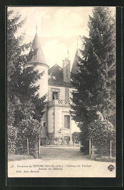 AK Senonches, Chateau de Tardais, Entrée 0