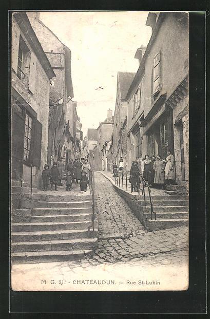 AK Chateaudun, Rue St-Lubin 0