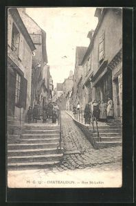 AK Chateaudun, Rue St-Lubin