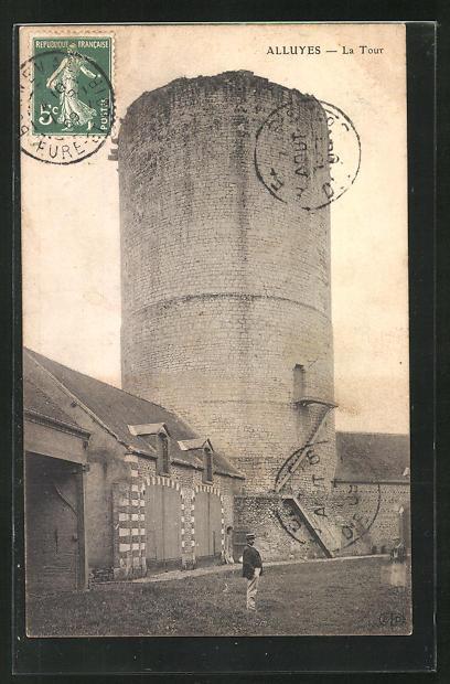 AK Alluyes, La Tour, Alter Turm 0