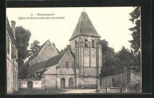 AK Saint-Lubin-des-Joncherets, Vue de l`Eglise