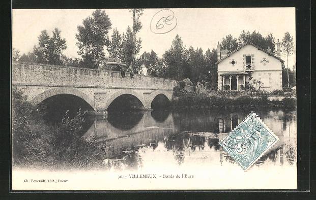 AK Villemeux, Pont du Bord de l`Eure 0