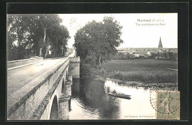 AK Marboue, Vue superieure du Pont 0