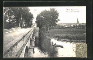AK Marboue, Vue superieure du Pont