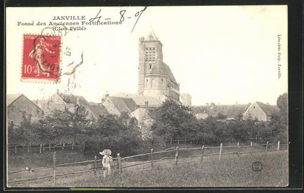 AK Janville, Fosse des Ancienne Fortification 0