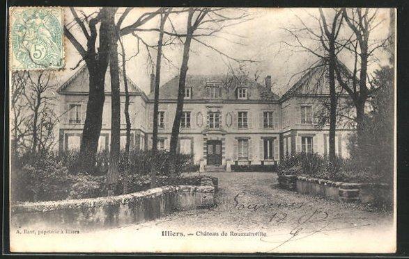 AK Illiers, Chateau de Roussainville 0
