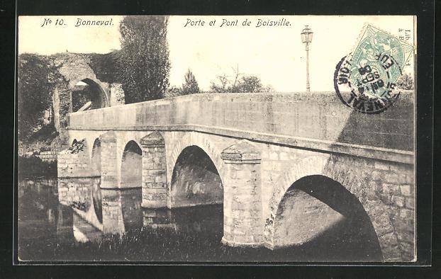 AK Bonneval, Porte et Pont de Boisville 0