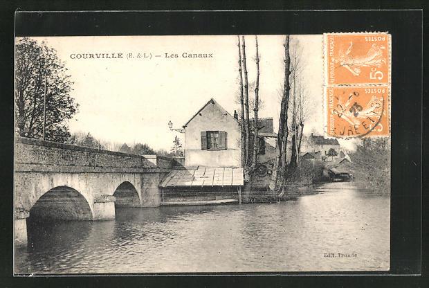 AK Courville, Les Canaux 0