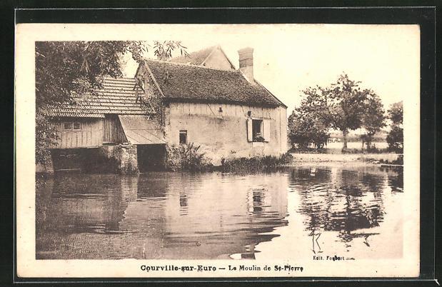 AK Courville-sur-Eure, Le Moulin de Saint-Pierre