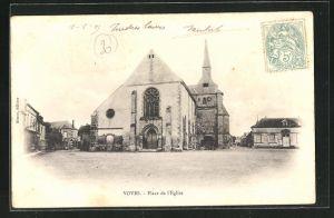 AK Voves, Place de l`Eglise
