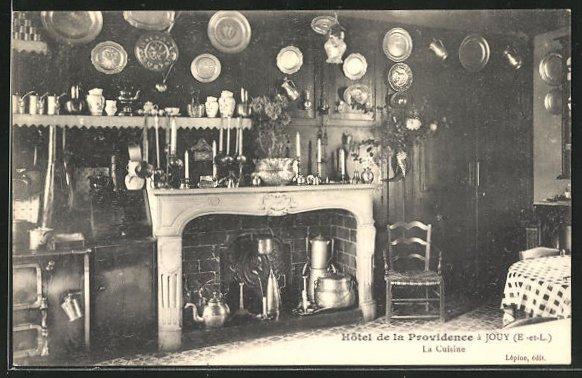 AK Jouy, Hotel de la Providence, la Cuisine, Küche 0