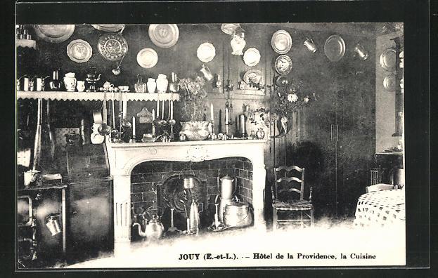 AK Jouy, Hotel de la Providence, la Cuisine, Küche