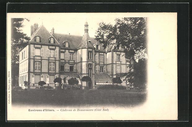 AK Blandainville, Chateau de Beaurouvre 0