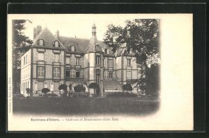 AK Blandainville, Chateau de Beaurouvre