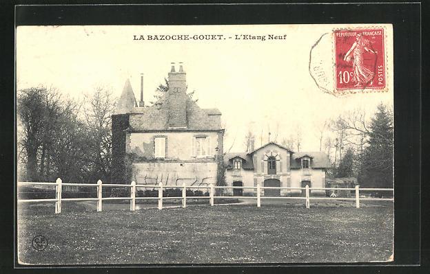 AK La Bazoche-Gouet, L`Etang Neuf