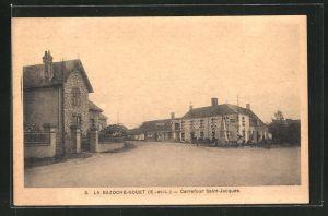 AK La Bazoche-Gouet, Carrefour Saint-Jacques