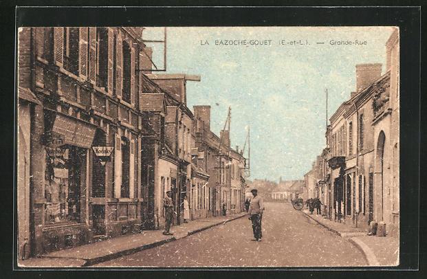 AK La Bazoche-Gouet, Grande Rue 0