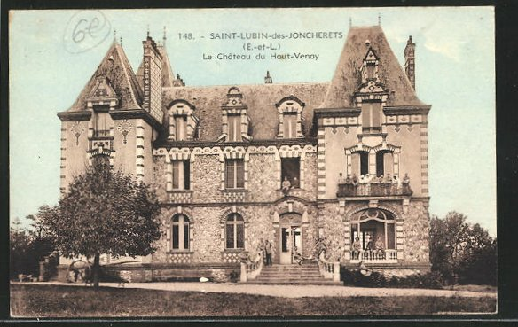 AK Saint-Lubin-des-Joncherets, Le Chateau du Hout-Venay