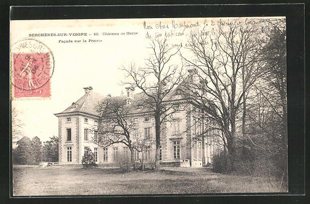 AK Bercheres sur Vesgre, Chateau de Herce