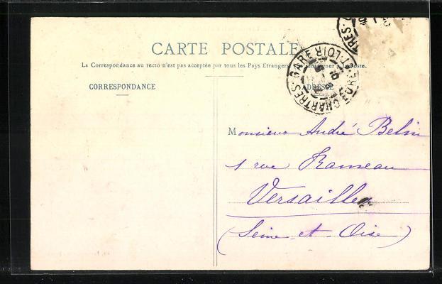 AK Chartres, La Place Chatelet et la Cathedrale 1