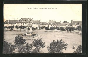 AK Chateaudun, La Place, cote Est