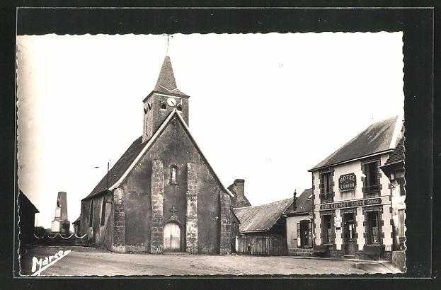 AK La Chapelle Guillaume, L'Eglise 0