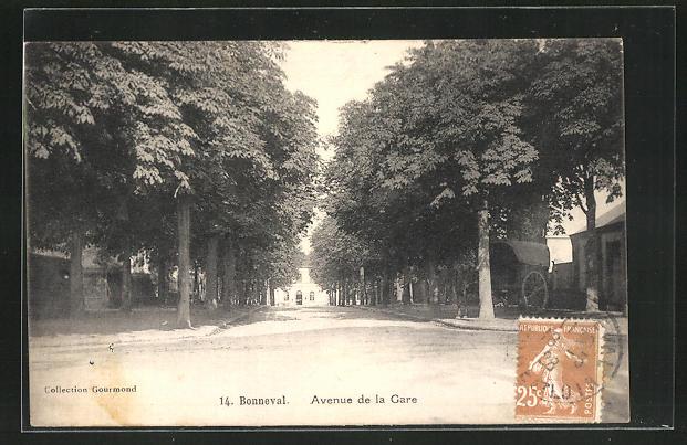 AK Bonneval, Avenue de la Gare 0