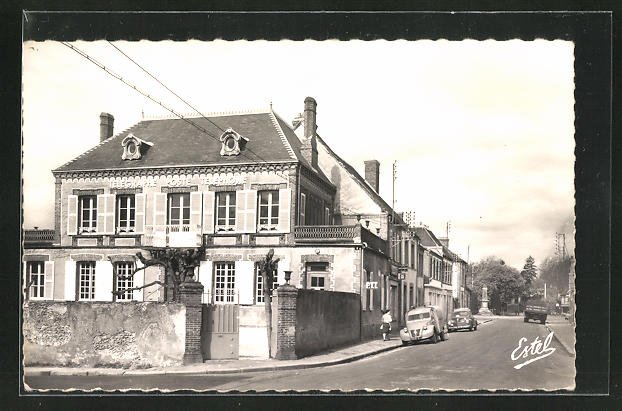 AK Senonches, Le Bureau de Postes, Rue de la Gare 0
