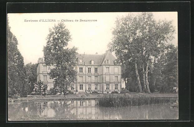 AK Illiers, Chateau de Beaurouvre