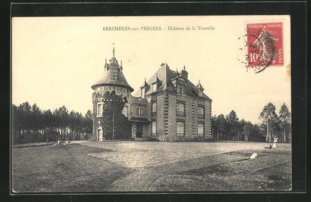 AK Bercheres-sur-Vesgres, Chateau de la Tourelle 0