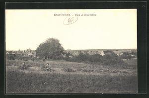 AK Ecrosnes, vue d`ensemble