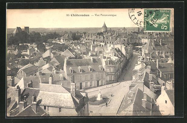 AK Chateaudun, vue Panoramique 0