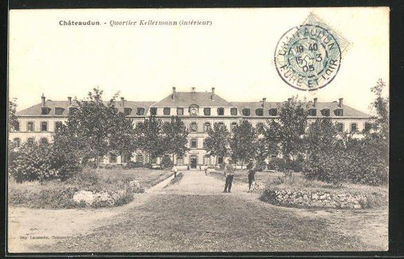 AK Chateaudun, Quartier Kellermann (interieur)