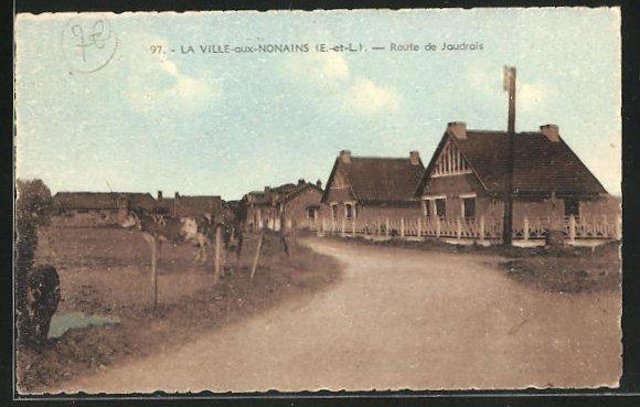 AK Ville-aux-Nonains, route de Jaudrais 0