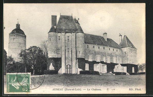 AK Auneau, le chateau 0