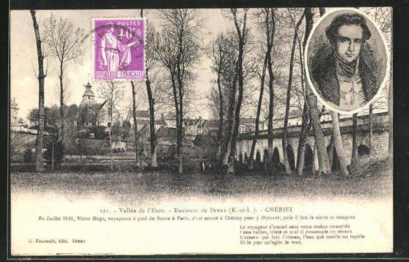 AK Cherisy, Vallee de l`Eure, Victor Hugo 0