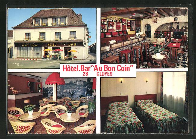 AK Cloyes, Hotel-Bar Au bon coin, chambres et Restaurant