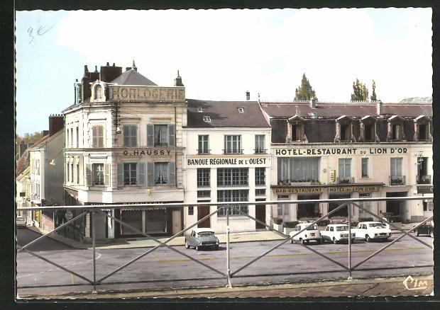 AK Nogent-le-Rotrou, Place St-Paul 0