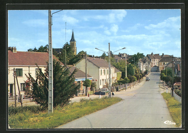 AK Authon-du-Perche, avenue Pierre et Marie Curie 0