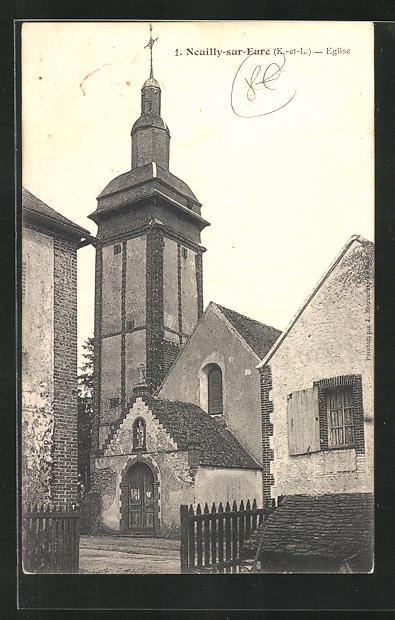 AK Neuilly-sur-Eure, Eglise 0